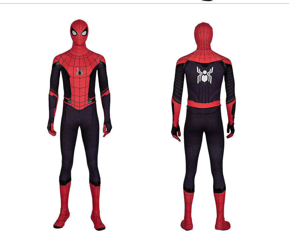 Spider Man Far From Home Jumpsuit Spiderman Halloween