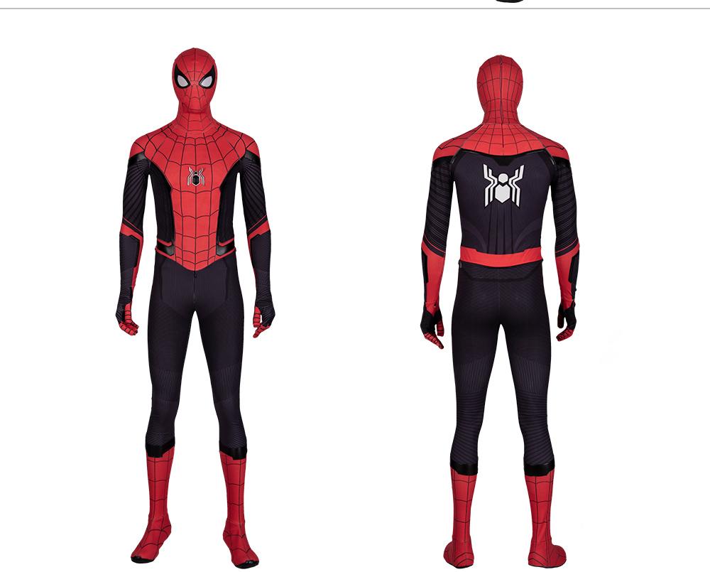 Spider Man Far From Home Jumpsuit Spiderman Halloween