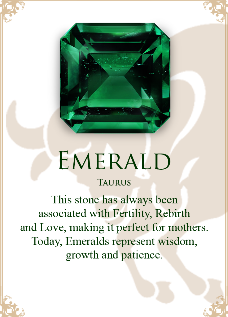 d6b2f9bc3ade9 The Emerald gem stone is for the sun sign- Taurus. | Birth stones ...
