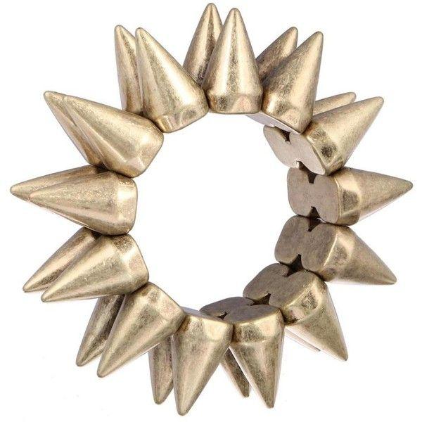 Yoins Bullet Bracelet ($10) ❤ liked on Polyvore featuring jewelry, bracelets, yoins, metal jewelry, bracelet bangle, bullet bracelet, metal bangles and bullet jewelry