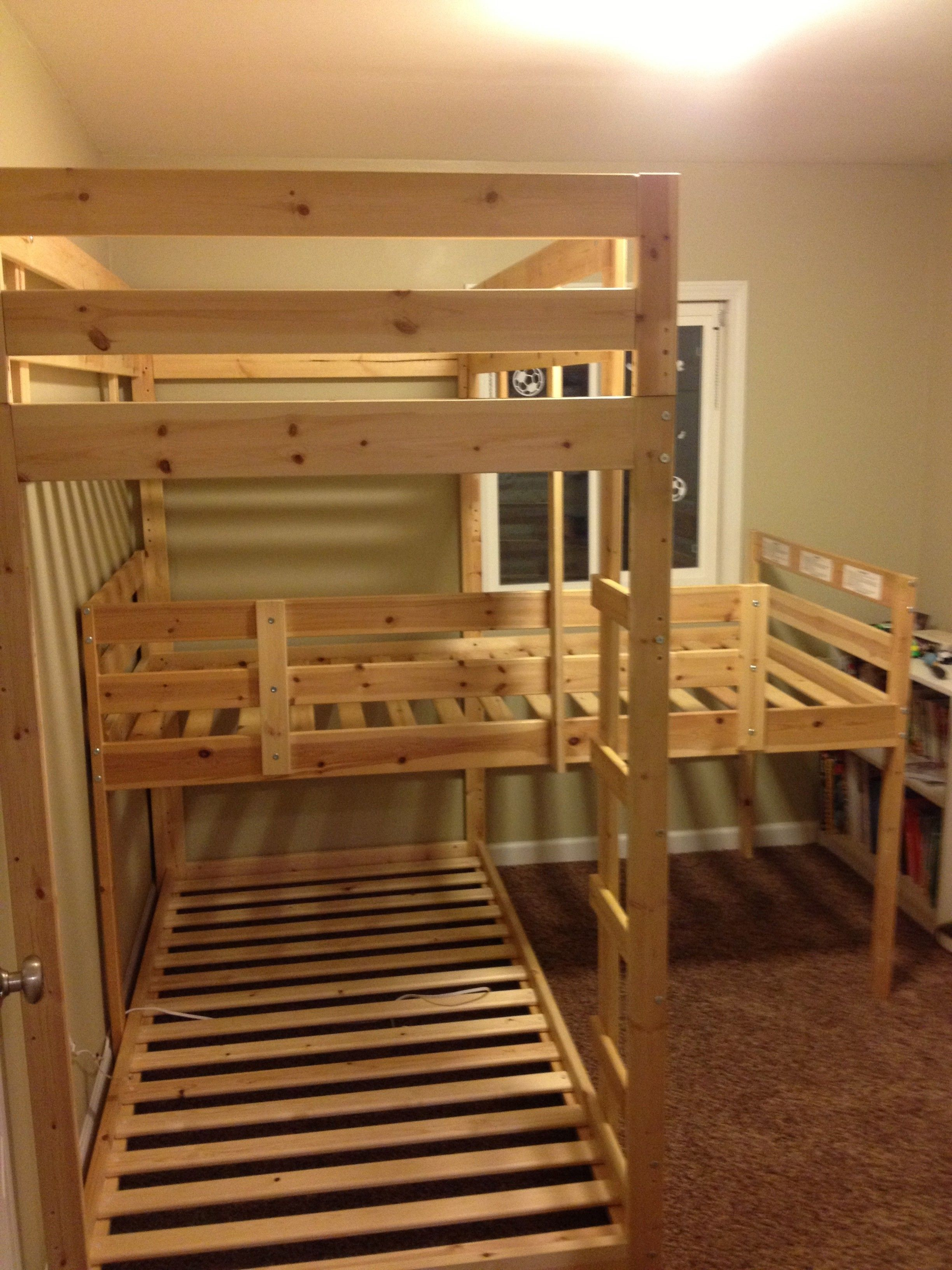 Triple Bunk Beds Ideas for Teens Bunk bed plans, Triple