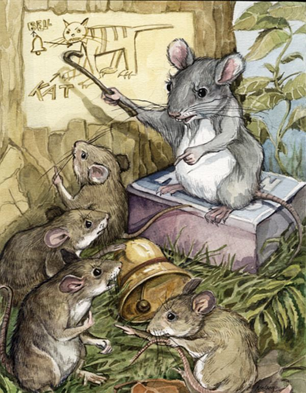 при картинки из жизни мышек салатовым