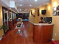 1000 sq ft Salon Design Idea | Salon design, Salon interior ...