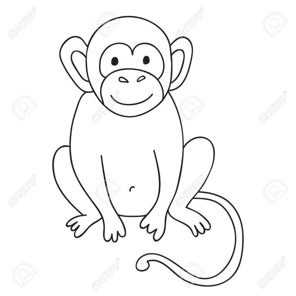 malvorlagen schimpansen di 2020
