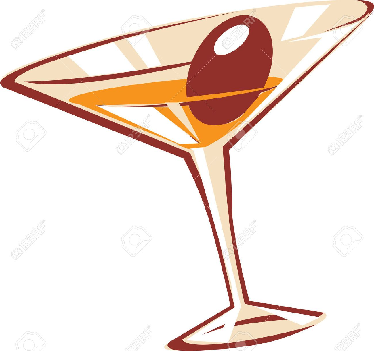 Martini Glass Stock Vector Illustration And Royalty Free ...