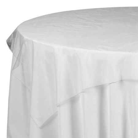 72 X White Sheer Mesh Organza Table Overlay Www Smartyhadaparty