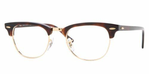 e400d98a45 Ray-Ban Glasses Ray Ban Eyeglasses frame RX 5154 RX5154 2372 Metal -  Acetate Brown Ray-Ban.  119.95. Save 35%!