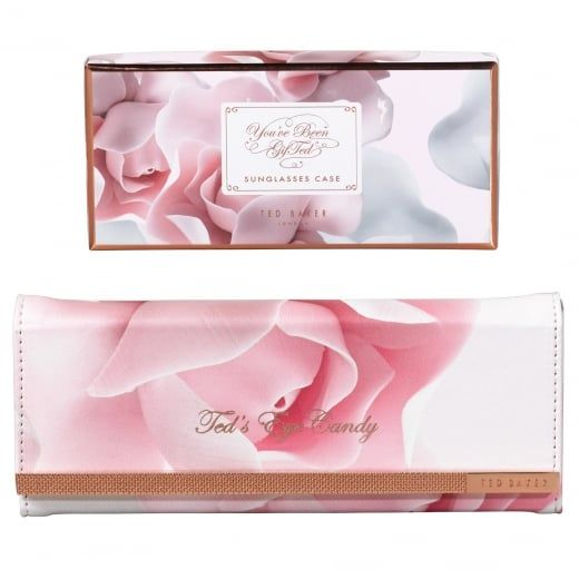 2538b549c Ted Baker Womens Porcelain Rose Foldable Sunglasses Glasses Case ...