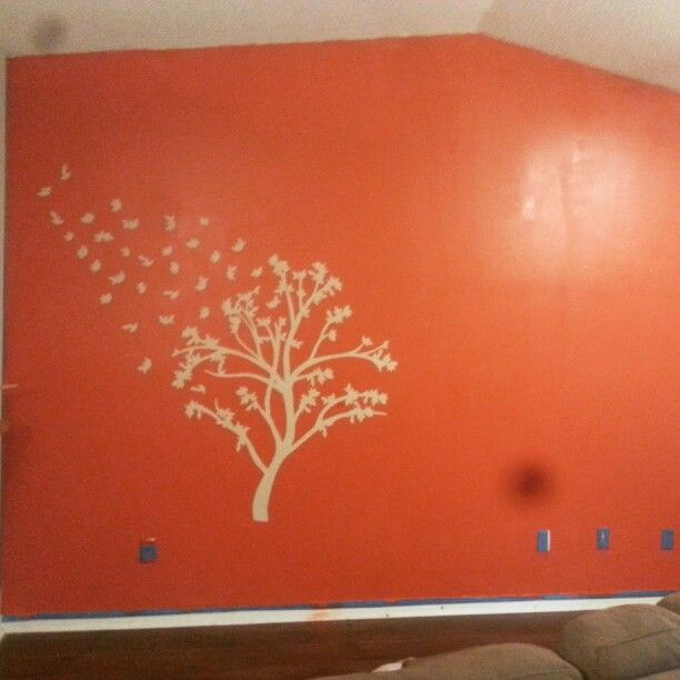 What simple paint and stencils can do!!!