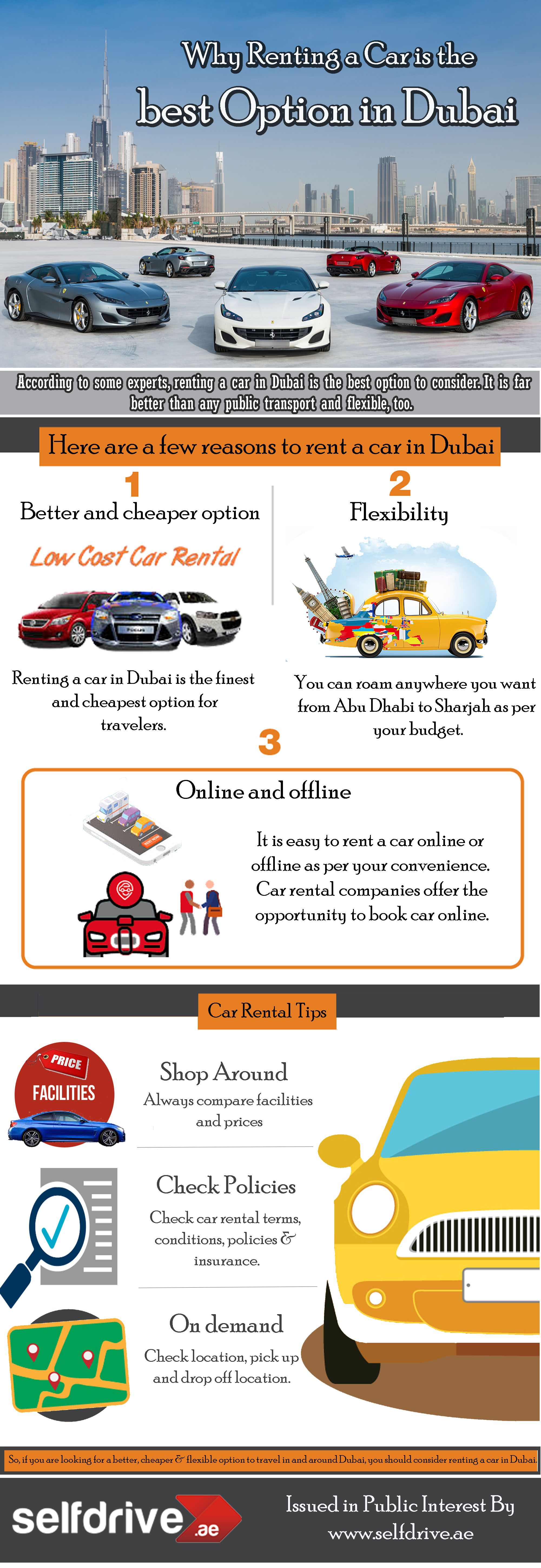 Why Renting A Car Is The Best Option In Dubai Rent A Car Car Rental Low Cost Cars