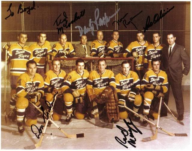 3a38308a5 1964 Nashville Dixie Flyers (EHL) Team Photo #hockey | Bucket & Flow ...