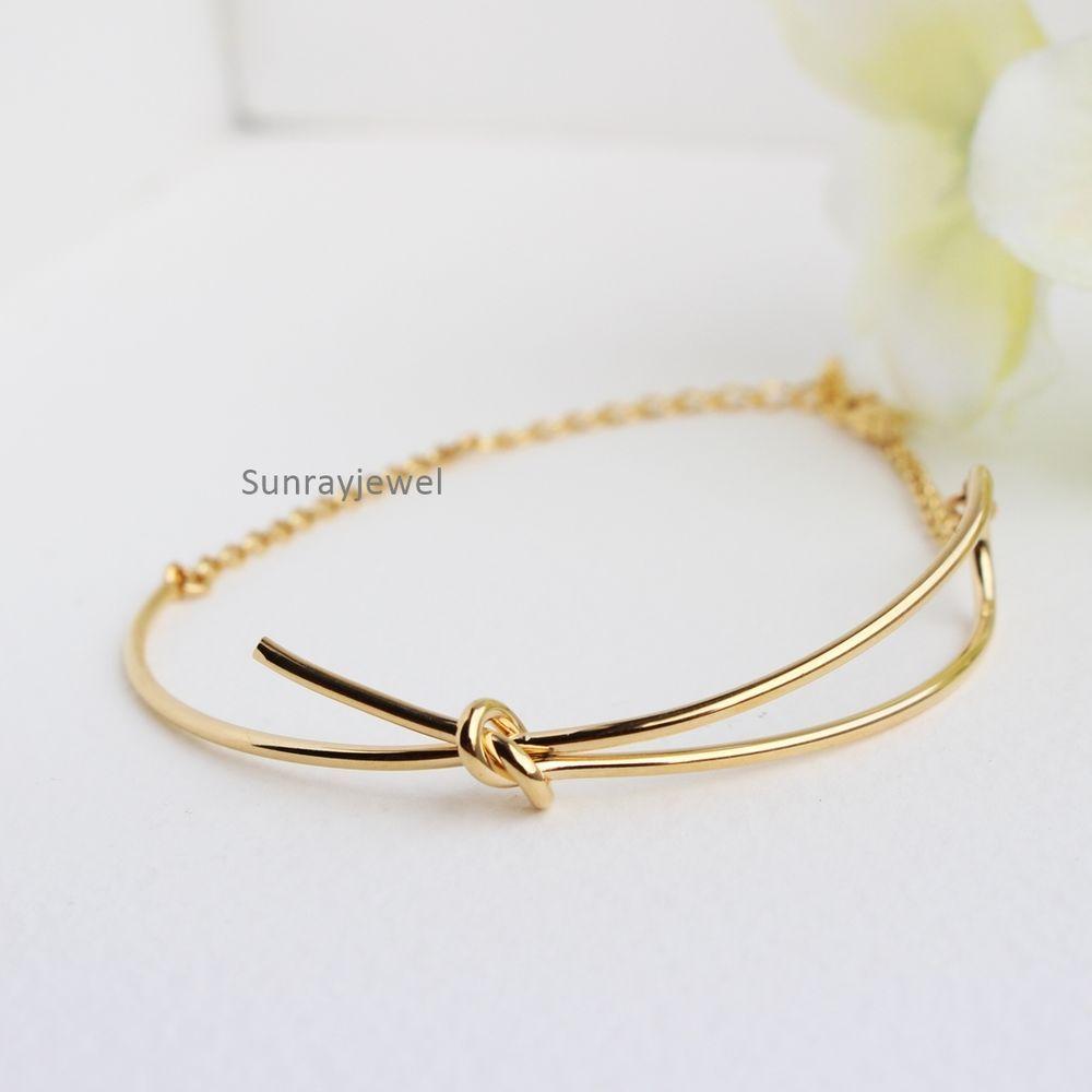 Half Bow Tie Bracelet Love Simple Adjule