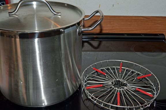 Water Bath Canner For A Glass Top Stove Canner Canning Rack