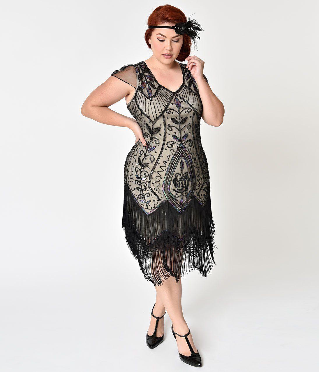 42++ Plus size flapper dress ideas info