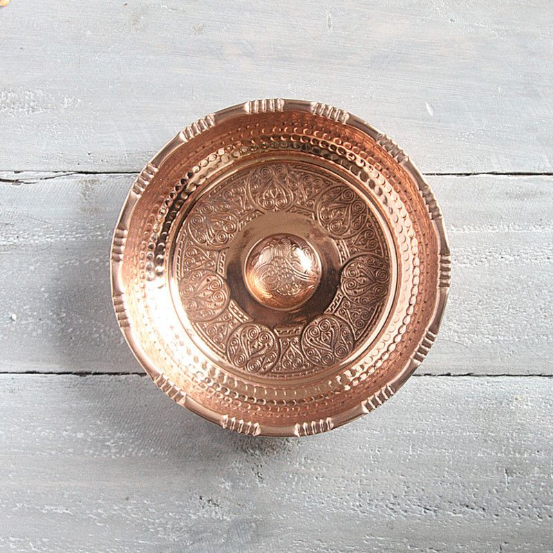 Hand Crafted Copper Hamam Bowl 3 Sizes Hardtofind Handcraft Crafts Copper