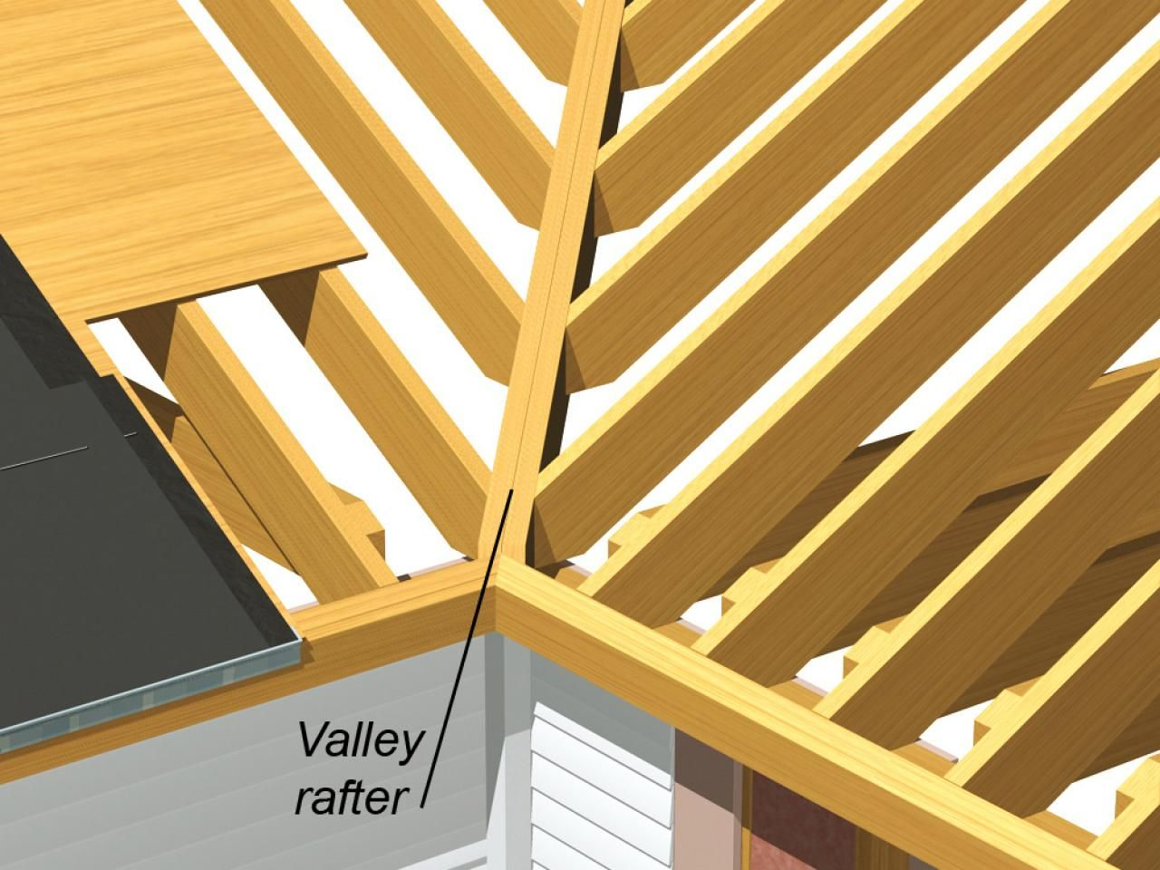 Roofing Component Basics Roof Structure Roof Design Roofing