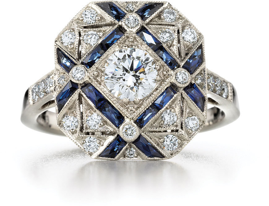 #kwiat.com                #ring                     #Sapphire #Diamond #Trellis #Ring #Kwiat #Vintage #Collection #White #Gold #Kwiat                       Sapphire Diamond Trellis Ring Kwiat Vintage Collection 18k White Gold | Kwiat                           http://www.seapai.com/product.aspx?PID=730117