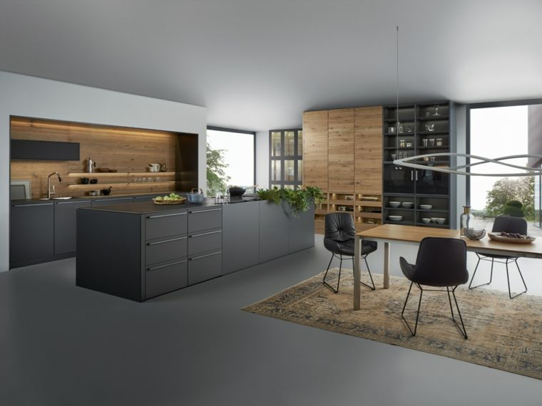 cocina diseñada por Leicht Küchen Decoración del hogar Pinterest - küchen modern design