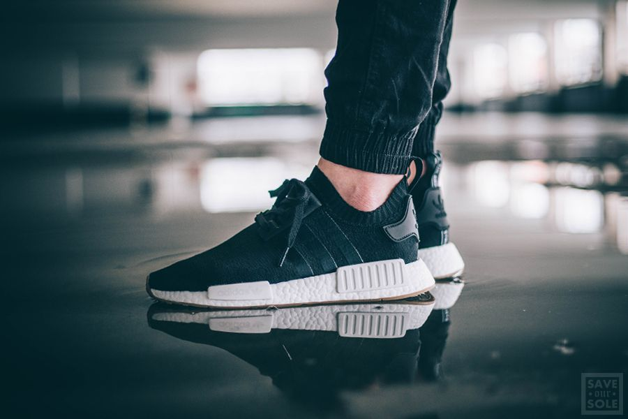 Adidas Nmd R1 Pk Black Gum Pack Sneaker Save Our Sole