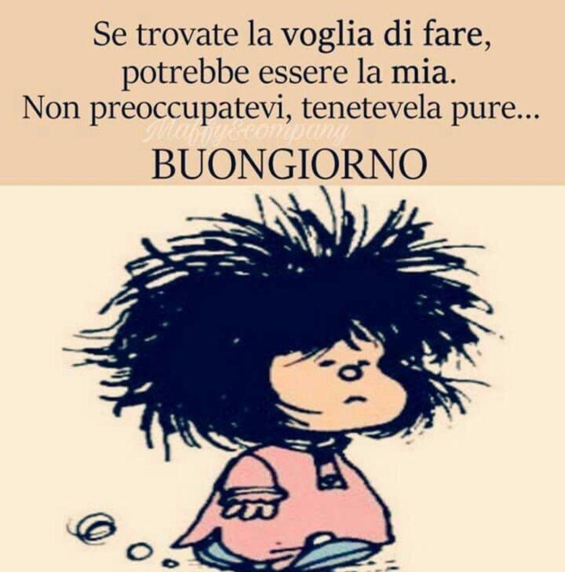 Immagini Buongiorno Mafalda 2 Buongiorno Divertente
