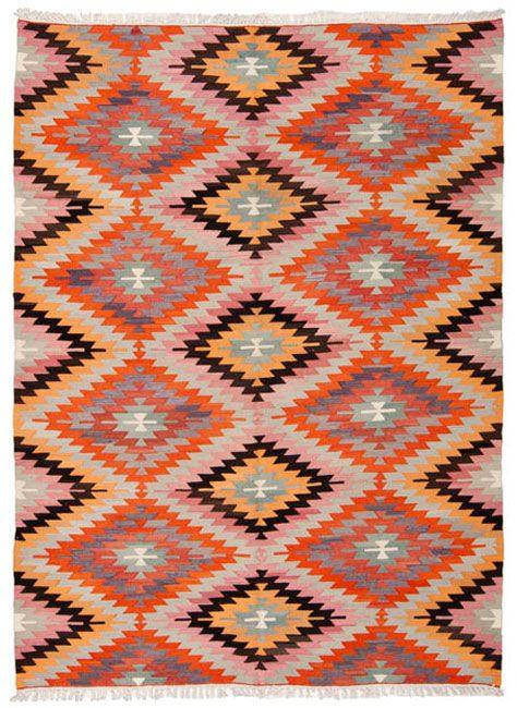1360 Vintage Antalya Kilim 285x160cm Rugs On Carpet