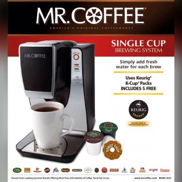 Final Sale Mr Coffee Wit Keurig Coffee Makr Nwt Keurig Coffee