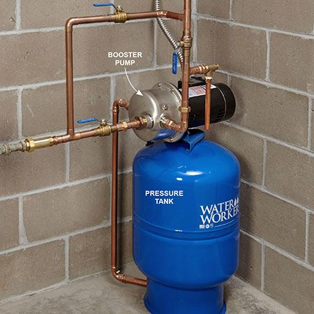 Boost Low Water Pressure In Your House In 2019 Low Water
