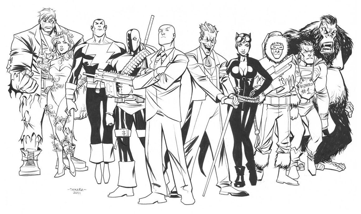 all coloring pages for ages printable dc comics adult free fan