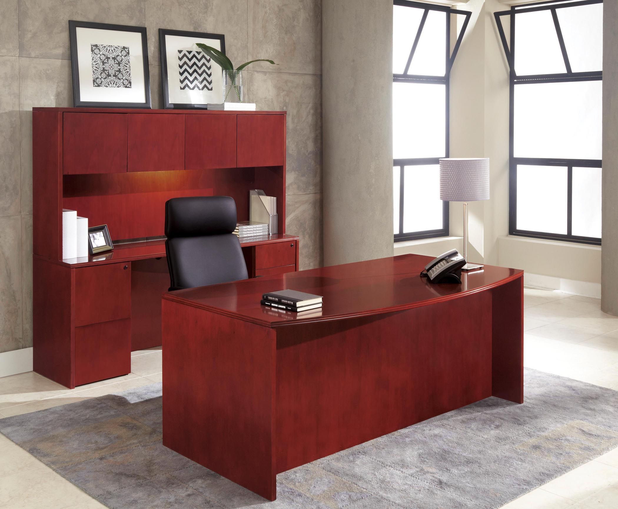 Red Cherry Wood Furniture Wood Office Furniture Cherry Wood
