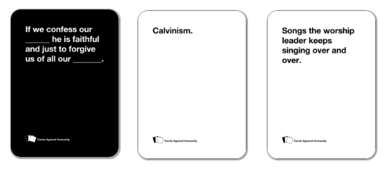 Cards Against Divinity