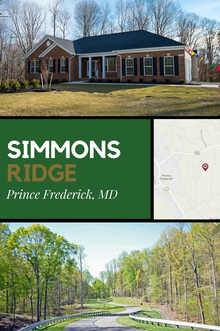 Simmons Ridge In Prince Frederick Md Single Family Homes Starting At 426 900 4 Bedrooms 2 5 Baths And Up To 3 New Home Communities Estate Homes New Homes