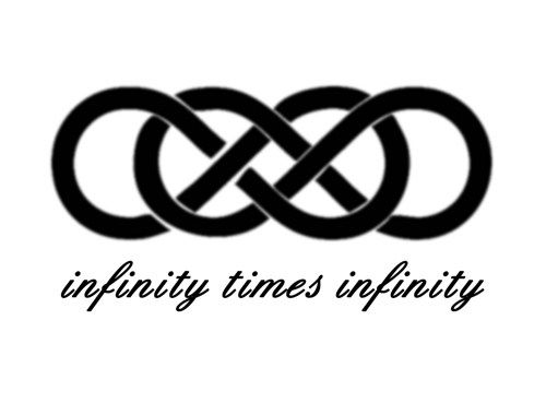 infinity times infinity double infinity symbol romantic wall decal tattoo possibilities. Black Bedroom Furniture Sets. Home Design Ideas