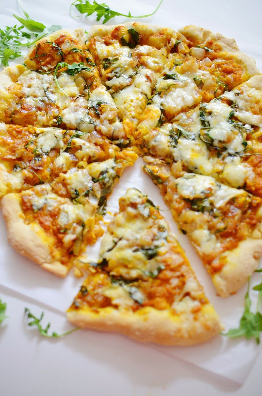 Savory Pumpkin Pizza | Love Lola