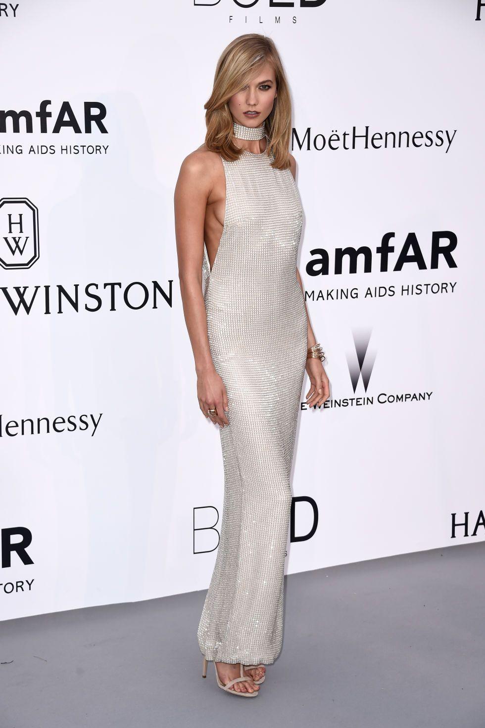 Karlie Kloss in Tom Ford   2015 amfAR Gala in Cannes