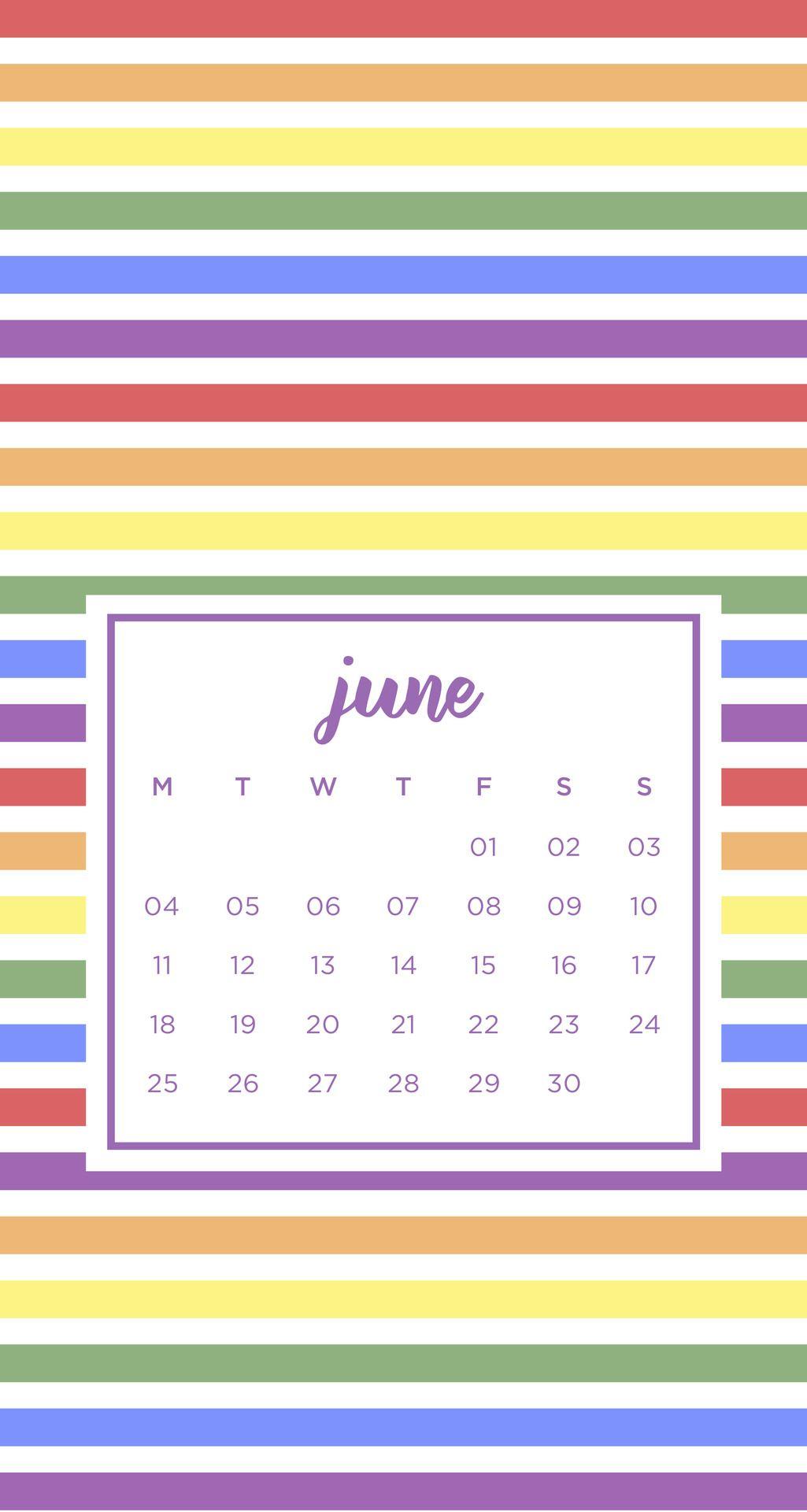 Pride Month Calendar 2019.Wallpaper June 2018 Iphone Pride For My Phone In 2019 Pride