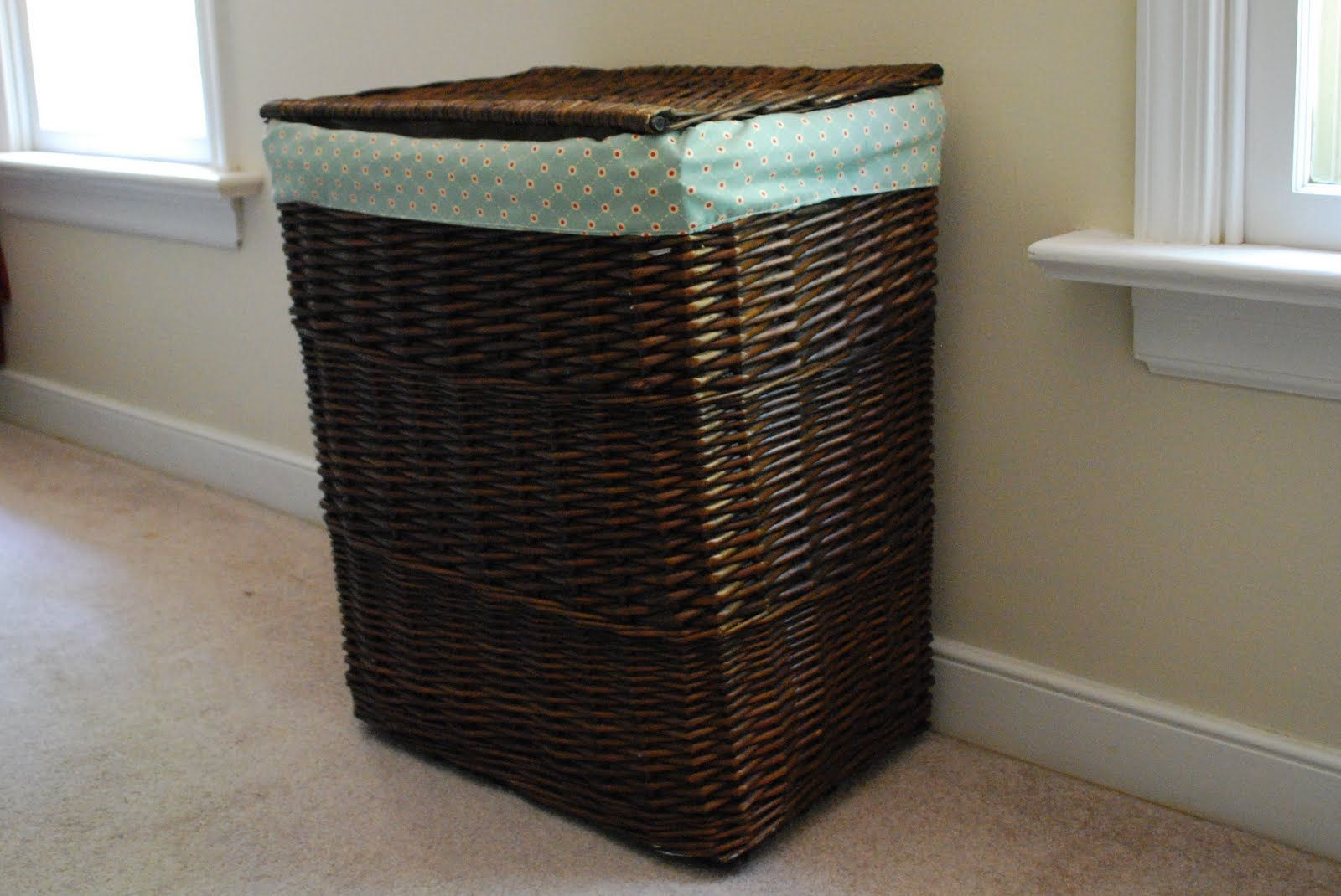 Basket Liner Fix Update Tutorial Basket Liners Basket Hamper
