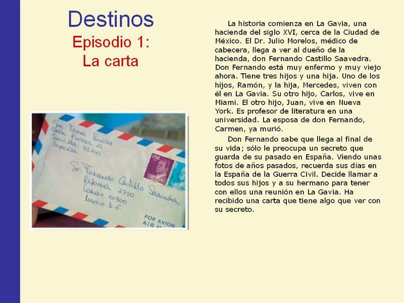 Destinos 1 Videos En Espanol Pinterest Learn Spanish And Spanish