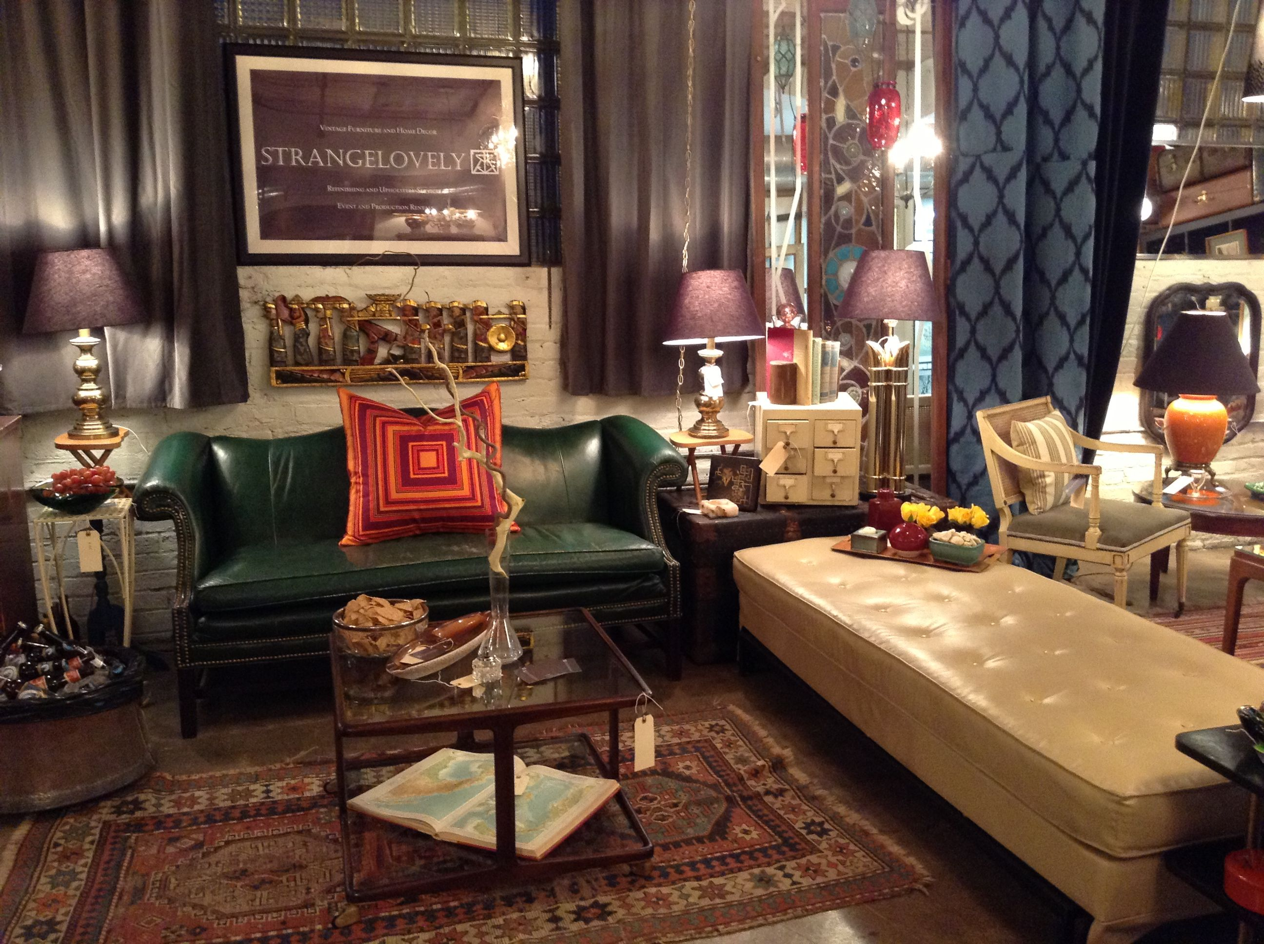 Strangelovely Vintage Furniture Chicago | House Beautiful ...