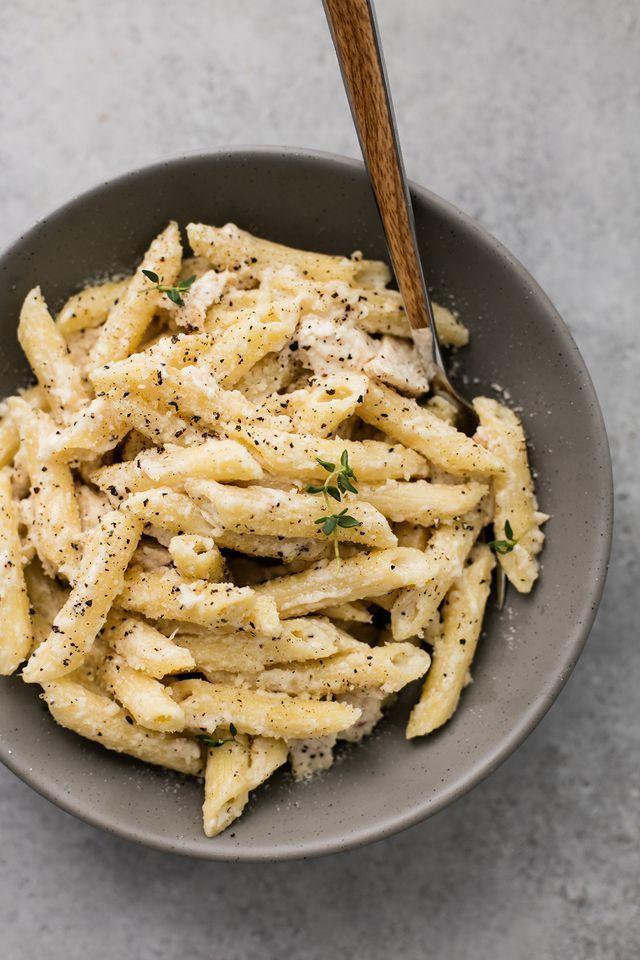Creamy Garlic Chicken Penne #creamygarlicchicken Creamy Garlic Chicken Penne Ver… – Çorba Tarifleri