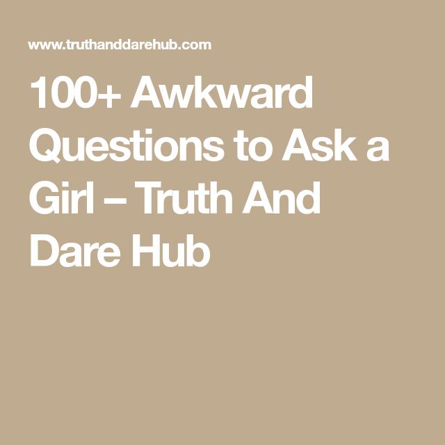 100 awkward questions