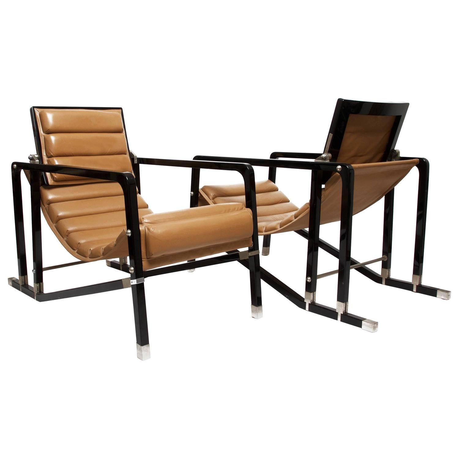 eileen grey furniture exellent furniture eileen gray pair of transat