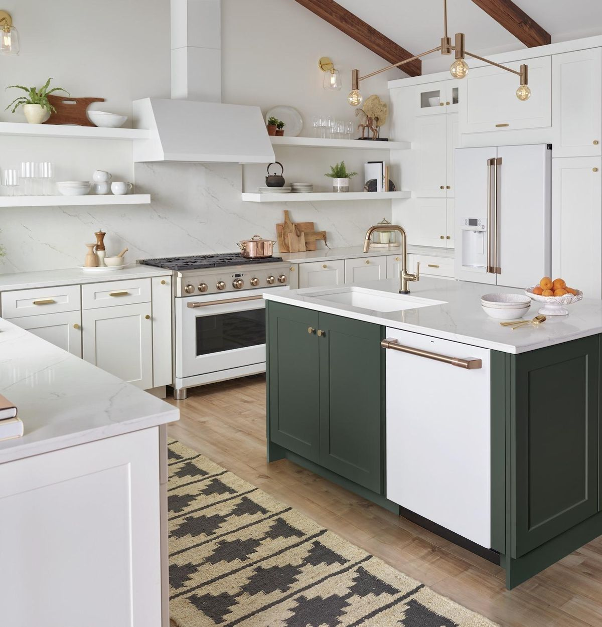 How To Make A White Kitchen Even More Beautiful In 2020 Affordable Kitchen Cabinets Kitchen Design White Kitchen Design