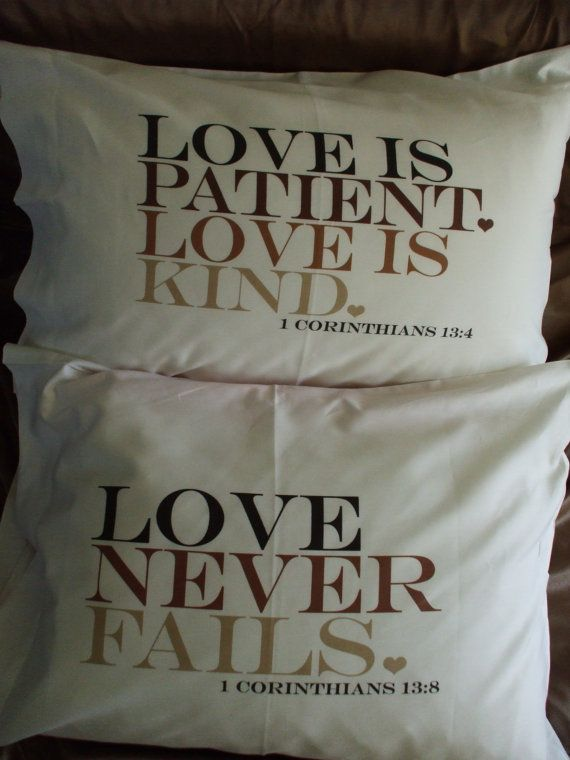 Personalized pillowcase pair with MR & MRS by uppercases on Etsy, $31.95
