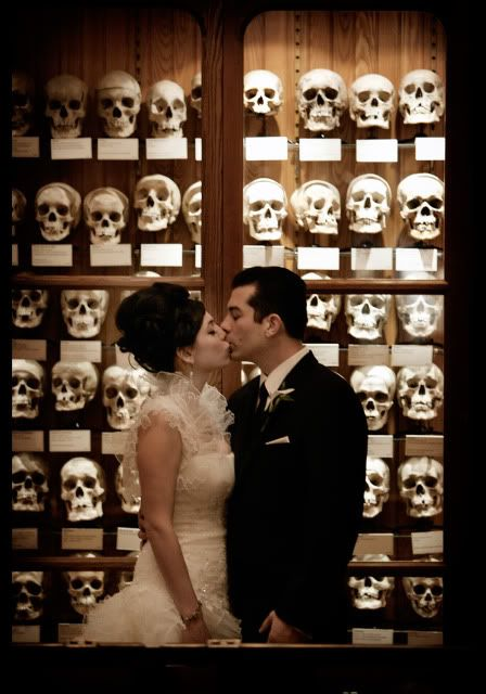 Wedding Tacular At The Mutter Museum