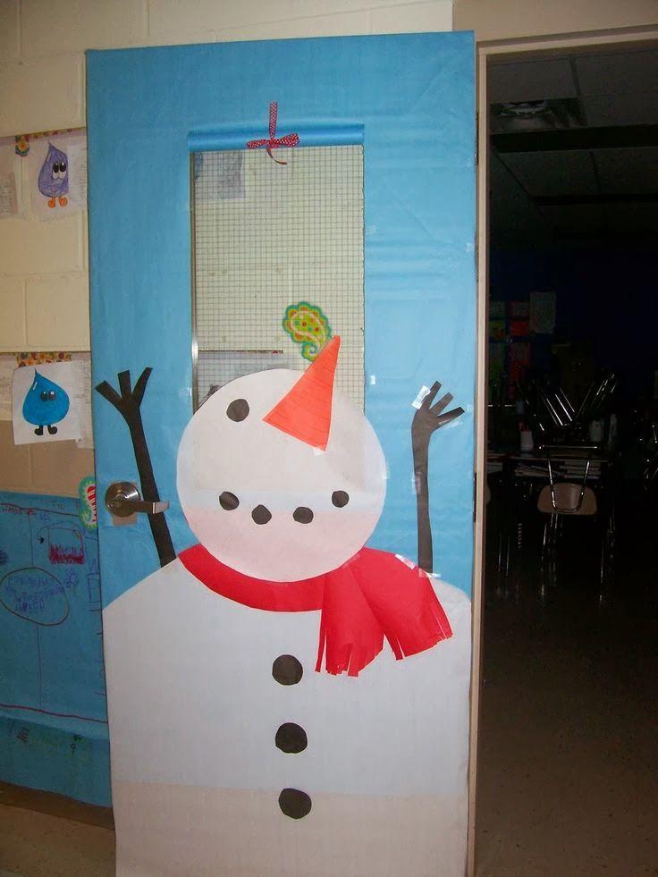 C mo decorar una puerta en navidad Como decorar una puerta
