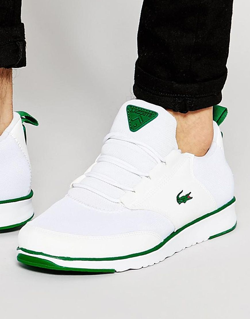 91e353a701915 Image 1 of Lacoste Light Runner Trainers
