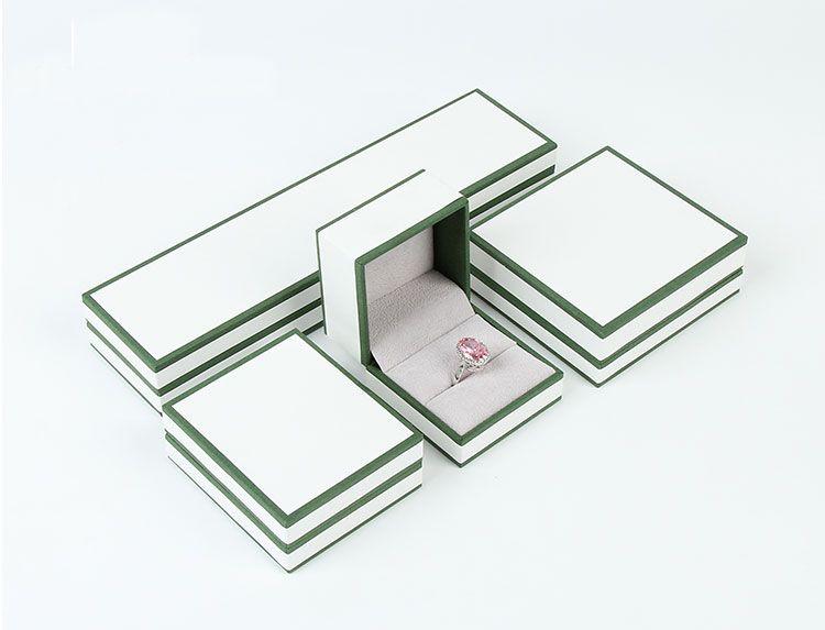 Custom Logo Cheap Embossing Small Velvet Jewelry Box Wholesale