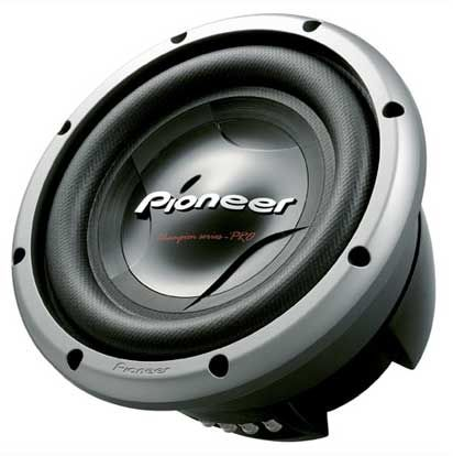 Pioneer TS-W3002D4 12 In  Champion Series PRO Subwoofer with