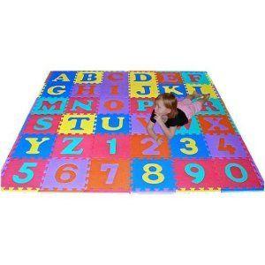 We Sell Mats 36 Sq Ft Alphabet And Number Floor Mat 45 99 Church Nursery Decor Church Nursery Foam Mats Kids