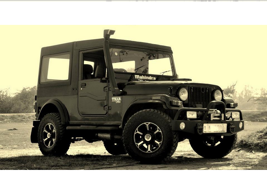 Mahindra Thar Recognized As One Of The Top Most Suvs In The